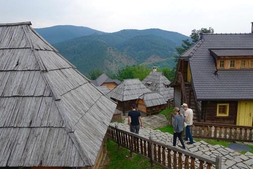 Architecture in Mokra Gora