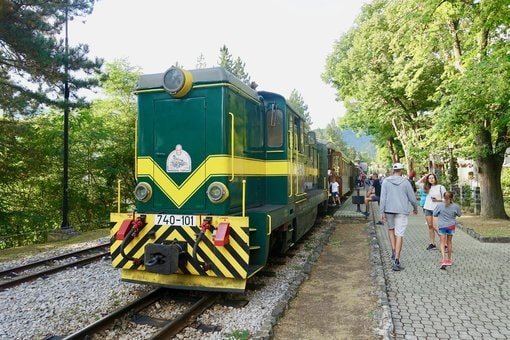 Sargan Eight train ride in Mokra Gora